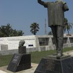 The statue of Kwame Nkrumah was beheaded during the 1967 coup. (Flickr/Rowan Collins)