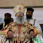 Patriarch Abune Mathias fled Ethiopia during the Derg regime in 1975 and represented the Ethiopian Orthodox Church in the USA and Jerusalem for over three decades.