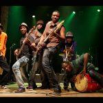 Mokoomba playing in Belgium in June 2012. (Pic: SOFAM Strange Milena/mokoomba.com)
