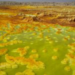 Sulphur and mineral salt formations are seen near Dallol in the Danakil Depression, northern Ethiopia April 22 2013. (Pic: Reuters)