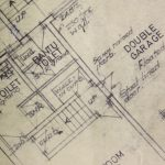 An old blueprint of our house in Ridgeway, Johannesburg South.(Saaleha Bamjee-Mayet)