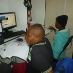 Students in a computer lab at Ngwana Enterprises in Francistown, Botswana. (Pic: Mooketsi Bennedict Tekere)