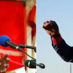 Robert Mugabe (L) and Morgan Tsvangirai. (Pic: AFP)