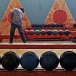 A bowling alley in Asmara. (Pic: AFP)