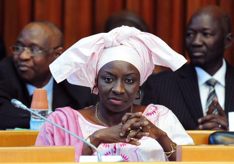 Aminata Toure was appointed prime minister of Senegal on September 1 2013. (Pic: AFP)