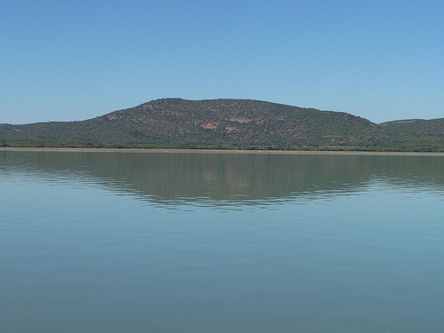 Due to long periods of no rain, water levels in the Gaborone Dam and other dams across the country are alarmingly low. (Pic: Flickr / Al Green)