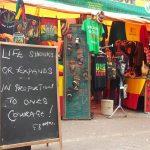 Jimmy Braye's stall. (Pic: Dudumalingani Mqombothi)