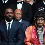 "Idris Elba and Winnie Madikizela-Mandela at the premiere of ""Mandela: Long Walk to Freedom"" in Johannesburg. (Pic: Gallo)"