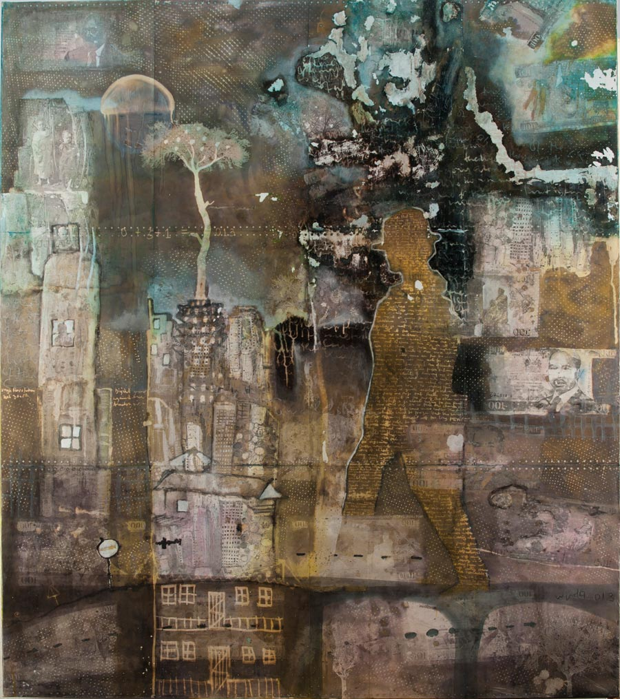 Paul Onditi's 'Half Life'. (Pic: Circle Art Agency)
