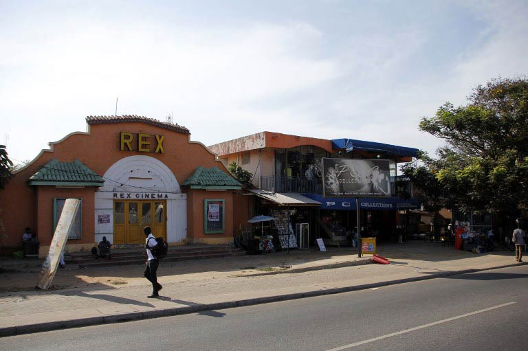 The Rex theatre in Accra, Ghana. (Pic: AFP)