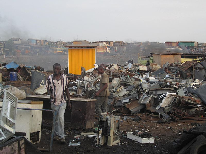 e-waste management thesis ghana