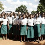 Secondary school girls in Malawi. (Pic: AFP)