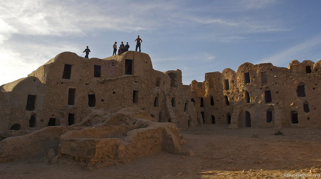 Architecture from southern Tunisia that inspired the Star Wars films. (Pic: Flickr / Henry Patton)