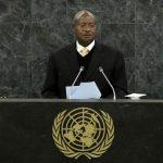 Ugandan President Yoweri Museveni. (Pic: AFP)
