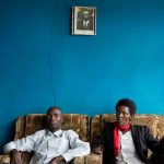 Emmanuel Ndayisaba and Alice Mukarurinda sit in Alice's home in Nyamata, Rwanda. (Pic: AP Exchange)