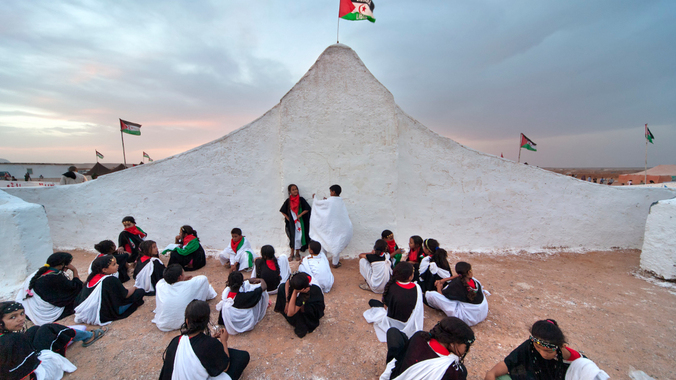 The Sahara International Film Festival. (Carlos Cazurro)