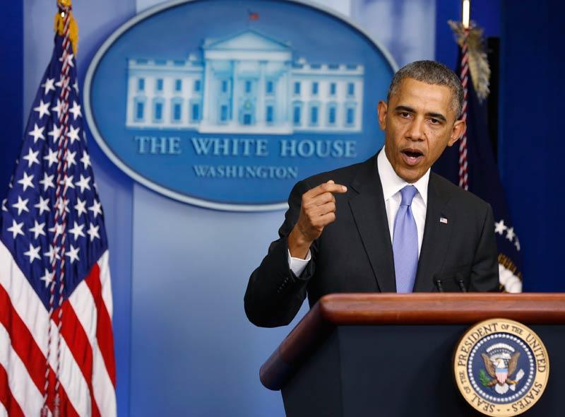 US President Barack Obama. (Pic: Reuters)