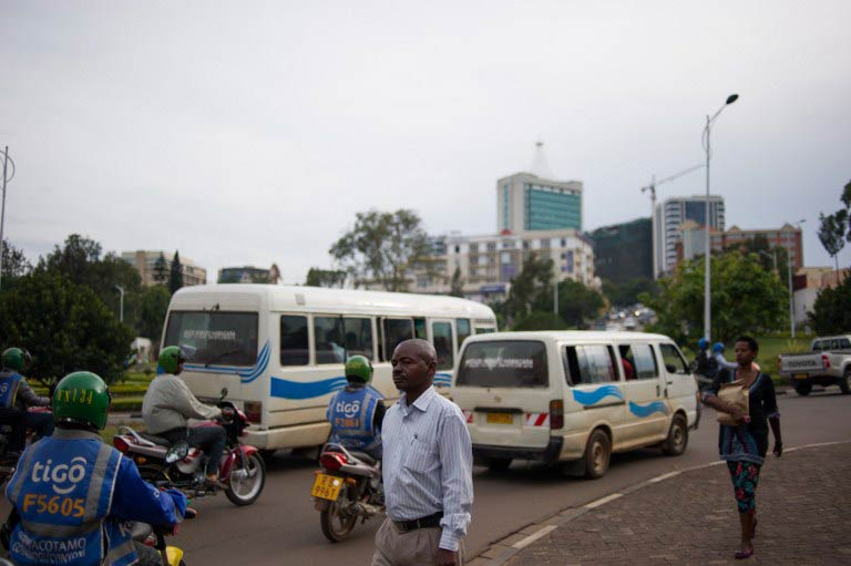 A street in Kigali. (Pic: AFP)