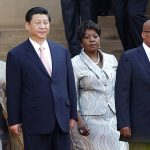 South African President Jacob Zuma and his fourth wife Bongi Ngema  welcome China's President Xi Jinping and his wife Peng Liyuan for a working visit to South Africa in March 2013. (Pic: Reuters)