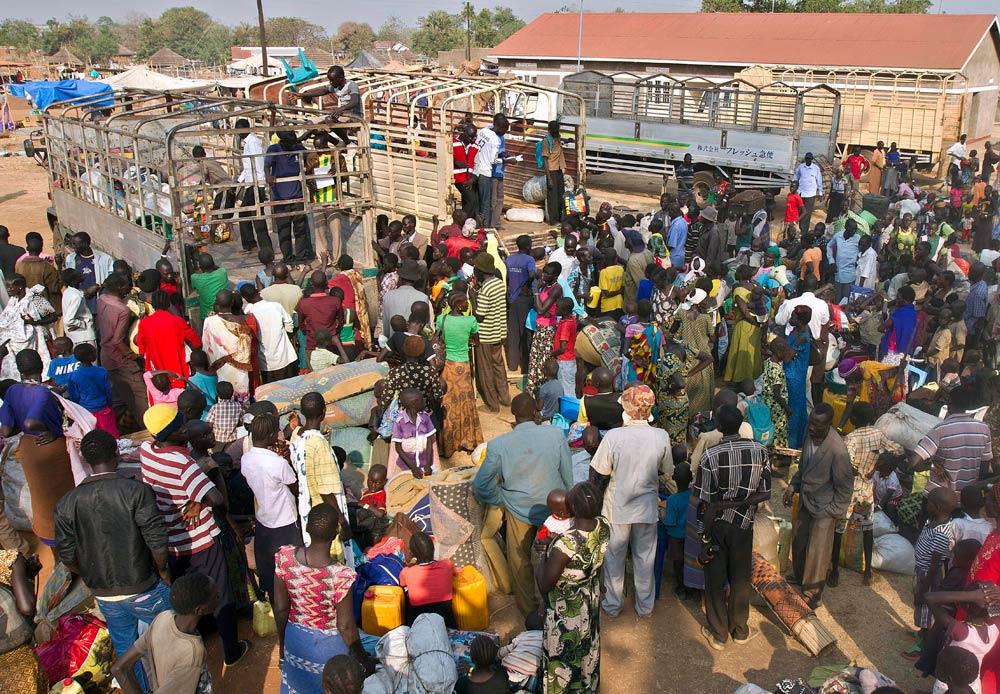 Image result for refugees in Uganda