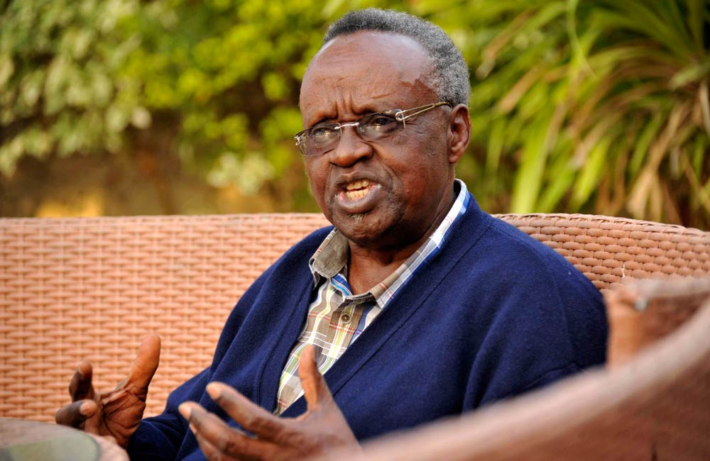Former Rwandan trade minister Justin Mugenzi. (Pic: Reuters)