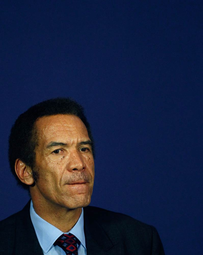 Botswana's President Ian Khama. (Pic: Reuters)