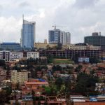 A view of the centre of the Rwandan capital, Kigali. Rwanda is positioning itself as a regional hub, twenty years after the genocide ravaged the country. (Pic: AFP)