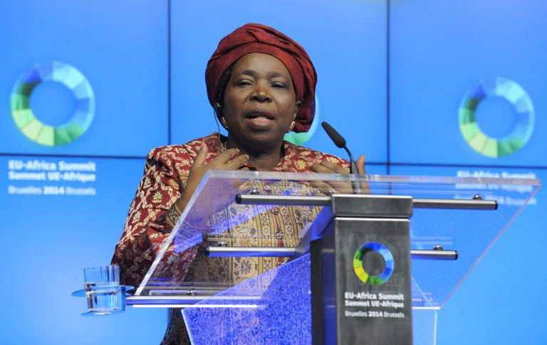 African Union Commission Chairperson Nkosazana Dlamini-Zuma. (Pic: AFP)