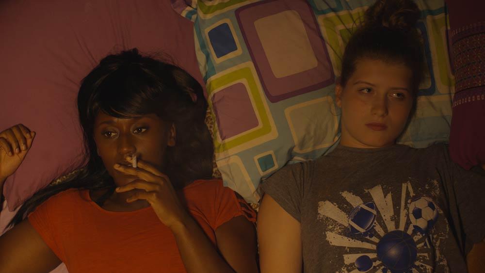 Nana Mensah (left) in 'Queen of Glory'. (Pic: Peter Hurley)