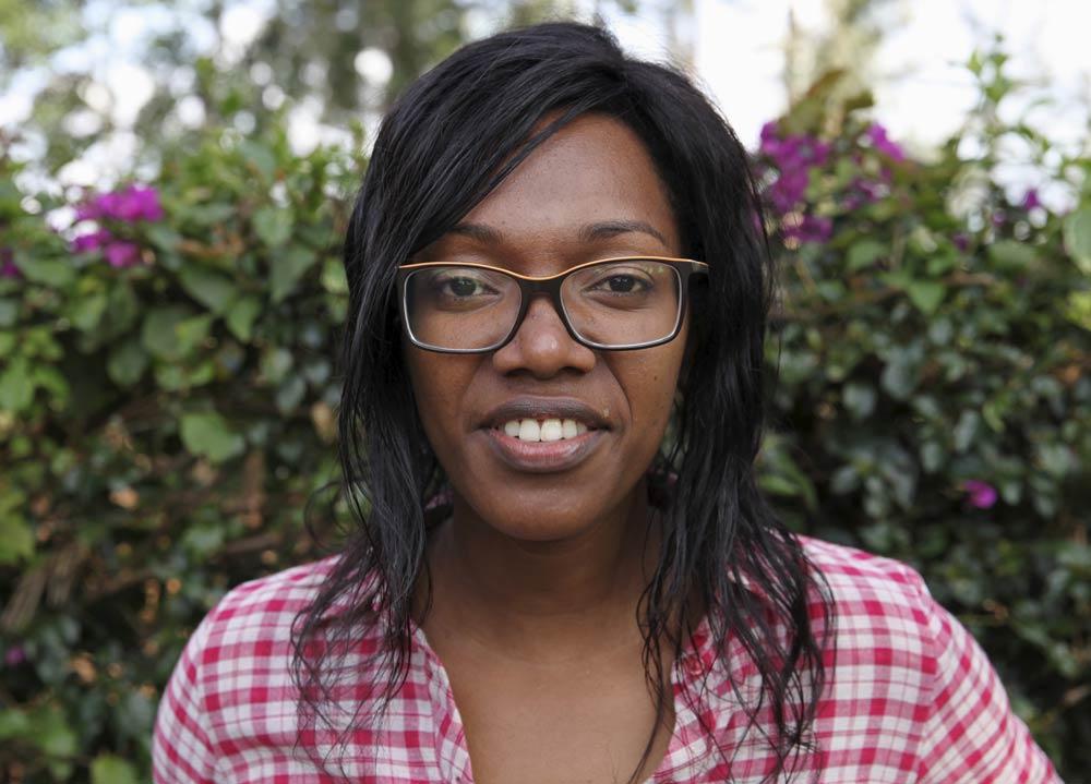 Audrey Mbugua. (Pic: Reuters)