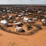 An aerial view shows an extension of the Ifo camp, one of several refugee settlements in Dadaab. (Pic: Reuters)