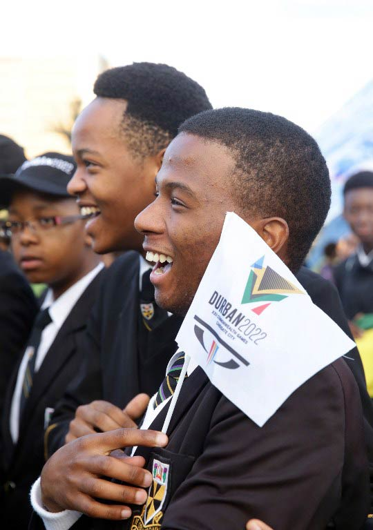 Durban was as officially named as host of the 2022 Commonwealth Games. (Pic: AFP)