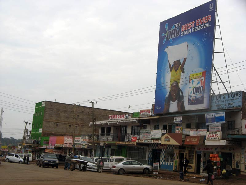 The streets of Ngong (Pic: Sheena Gimase)