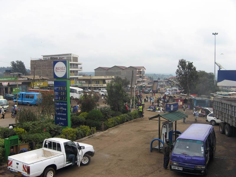 The streets of Ngong. (Pic: Sheena Gimase)