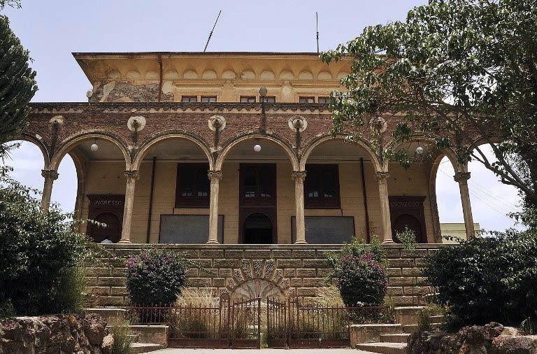 Asmara Theatre (Pic: AFP)