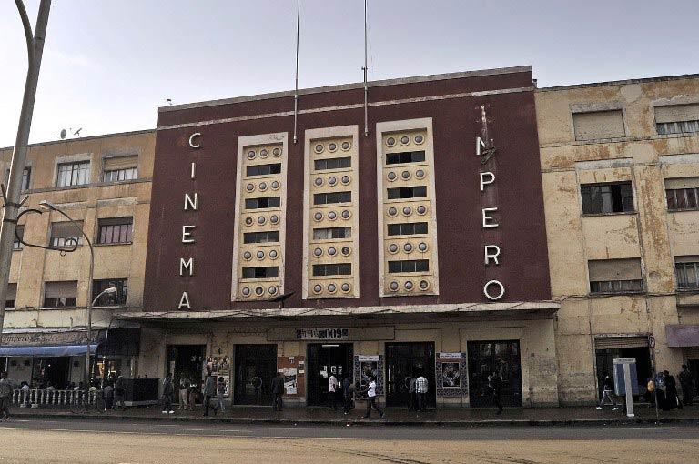 Cinema Impero in Asmara. (Pic: AFP)