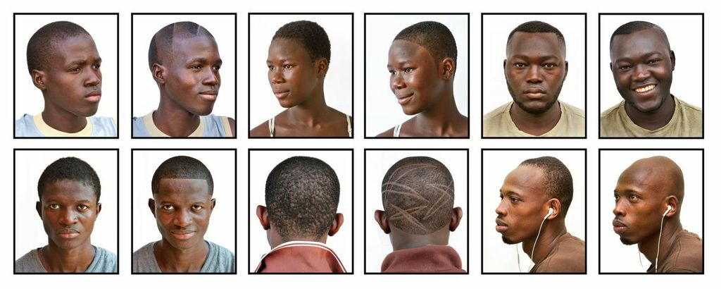 Hairstyles. (Pic: Andrew Esiebo)